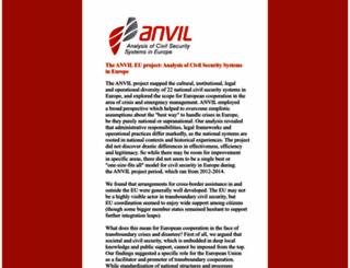 anvil-project.net screenshot