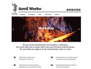 anvilworks.net screenshot
