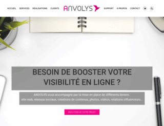 anvolys.com screenshot
