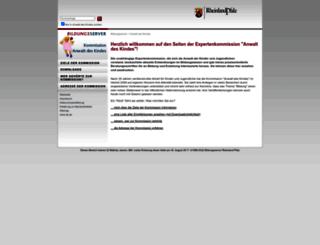 anwalt-des-kindes.bildung-rp.de screenshot