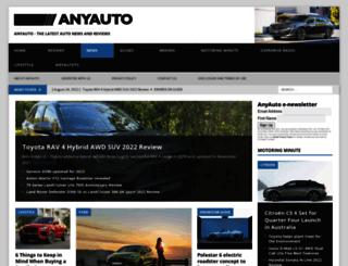 anyauto.com.au screenshot