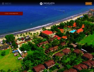anyer.jayakartahotelsresorts.com screenshot
