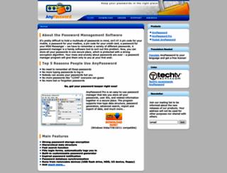 anypassword.com screenshot