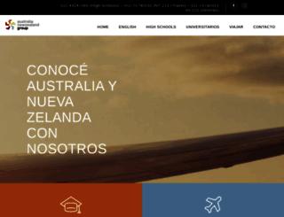 anzgroup.com.ar screenshot