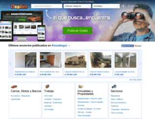 anzoategui.doplim.com.ve screenshot