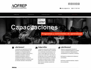 aofrep.org.ar screenshot