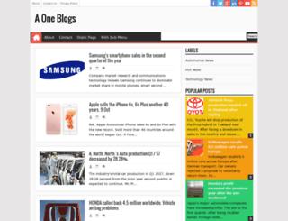 aone-blogs.blogspot.com screenshot