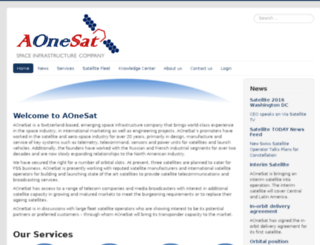 aonesat.com screenshot