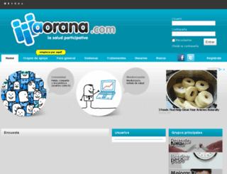 aorana.com screenshot