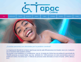 apac-colima.org screenshot