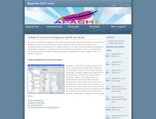 apache-gui.com screenshot