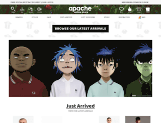 apacheonline.co.uk screenshot