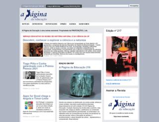 apagina.pt screenshot