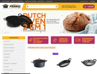 apaneladeferro.com.br screenshot