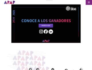apap.org.pe screenshot