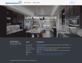 apartmentagents.com screenshot