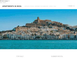 apartments-in-ibiza.com screenshot