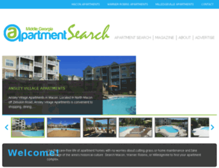 apartmentsearchmagazine.com screenshot