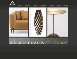 apartmentzero.com screenshot