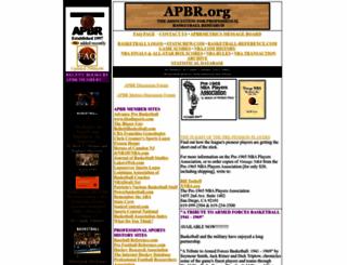 apbr.org screenshot