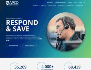 apcointl.org screenshot