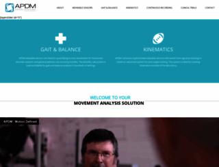 apdm.com screenshot