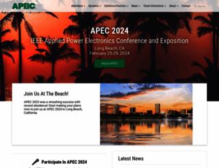apec-conf.org screenshot