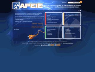 apeie.es screenshot