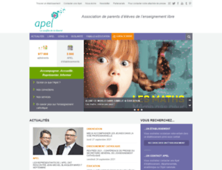 apel.fr screenshot