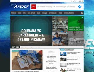apesca.pt screenshot