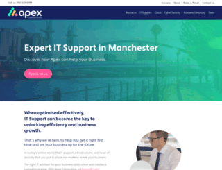apexcomputing.co.uk screenshot
