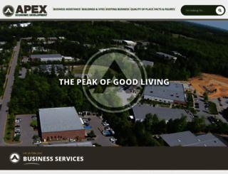apexeconomicdevelopment.org screenshot