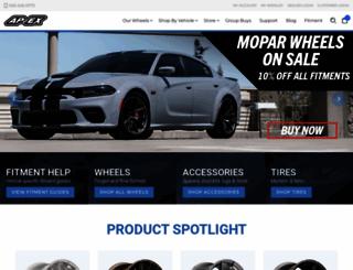 apexraceparts.com screenshot