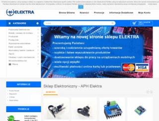 aphelektra.com screenshot