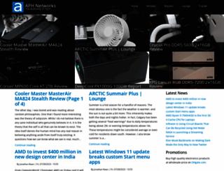 aphnetworks.com screenshot