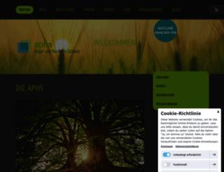 aphs.ch screenshot