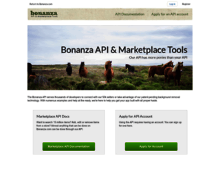 api.bonanza.com screenshot