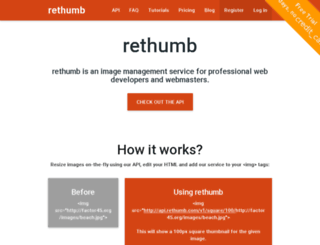 api.rethumb.com screenshot