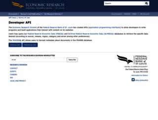 api.stlouisfed.org screenshot