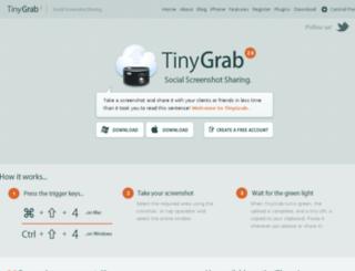 api.tinygrab.com screenshot
