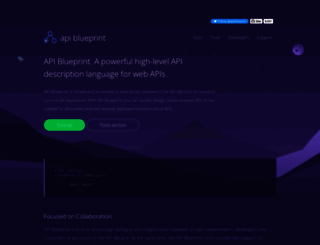 apiblueprint.org screenshot