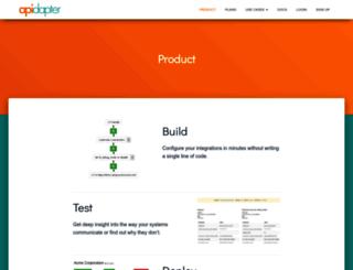 apidapter.com screenshot