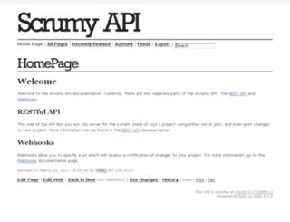 apidoc.scrumy.com screenshot