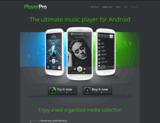 aplayerpro.com screenshot