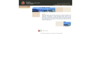 aplicaciones.magrama.es screenshot