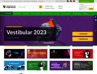 aplicweb.feevale.br screenshot