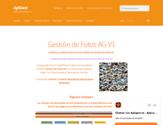 apligest.es screenshot