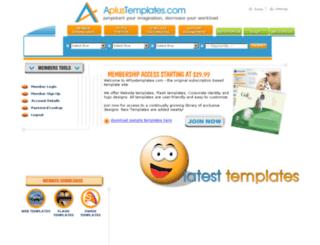 aplustemplates.com screenshot