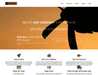 apobox.com screenshot