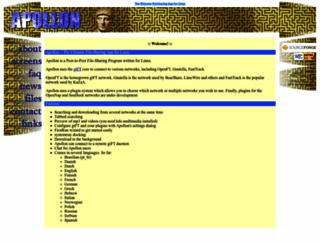 apollon.sourceforge.net screenshot